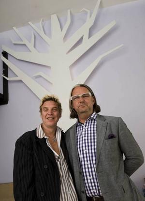 Tomas Cederlund och Simon Davies.