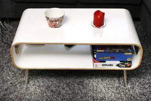 Fint bord med runda former.