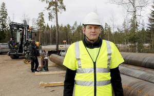 Magnus Ernström, projektägare och strateg på Region Gävleborg. Bilden är tagen i december 2015.