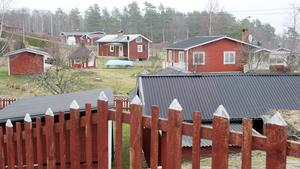 Sommarstugor vid Stäudd. Fotograf: Ulf Eneroth/arkiv