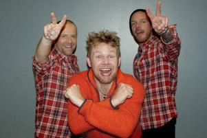 Patriks combo från vänster: Anders Erlandsson, Patrik Zackrisson och Fredrik Magnusson.
