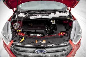 Fords supersnåla bensinmotor på 1,5 liter och 150 hk imponerar.