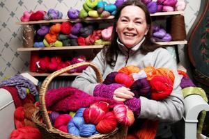 Företaget heter Ofärgade garner – men allt började med att Viola Schavon ville färga garn.