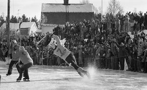 En vanlig syn på Faxevallen under 70-talet.  Nummer 7,