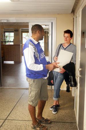 Många har undrat var Arlindo Gomes ska ta vägen efter Backens skolas nerläggning . Det blir Gnarp för hela slanten