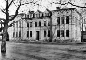 Marsfältets skola i mars 1926. Ur Ingrid Andrés fotosamling, Arkivcentrum Örebro län.