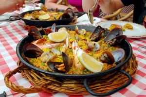 Nu äter och dricker man billigt i Spanien.