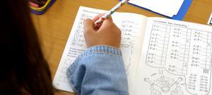 Sätereleverna i år tre och sex har förbättrat sina resultat rejält i matte, svenska och engelska. Fotograf: Scanpix