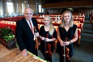 Gammal är inte alltid äldst, enligt Orkesterföreningens veteran Jörgen Dicander, 75 år.