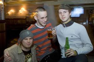 Pitchers: Tobias, Albin och Mikael