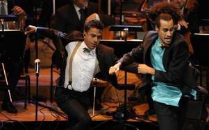 Timbuktu på Konserthusets scen. Foto: ERIK MÅRTENSSON / TT