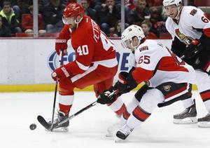 Henrik Zetterberg nätade mot Ottawa - med en overklig fint som hela NHL pratar om.