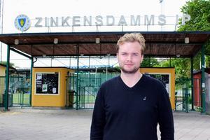 Fredrik Rexin har hållit till på Zinkensdamm som tränare för allsvenska Tellus de två senaste säsongerna. Nu är han klar som ny tränare i Broberg.