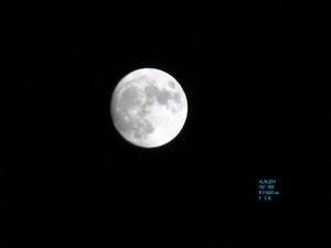 Bilden på månen var svårare än jag trodde att ta.