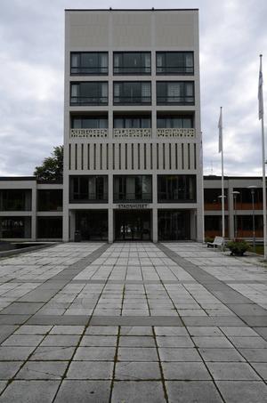 Stadshuset av Sven H. Wranér.   Foto: Daniel Palmberg
