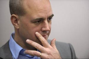 Moderatledaren Fredrik Reinfeldt har i klimatfrågan gått från ointresserad 2006 till att ha hög profil 2009 och till att åter ligga lågt inför valet i år.Foto: Fredrik Sandberg/SCANPIX