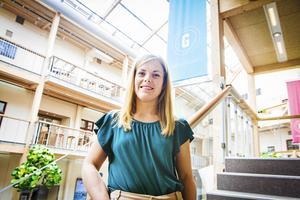 Anna Nordlander är ny affärsrådgivare på företagsinkubatorn Bizmaker i Sundsval. Hon hoppas att många ska vända sig till dem för att få hjälp med sina idéer.