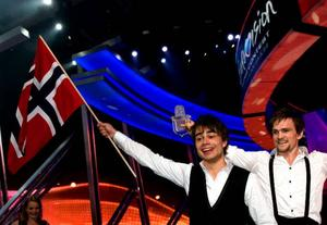 Alexander Ryback gav Norge en flygande start på 17 maj när han vann schlager-EM i Moskva Foto: scanpix