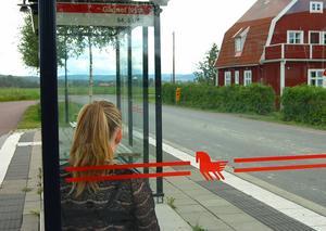 Flickan blev nekad att åka med. Personen på bilden har inget samband med texten.