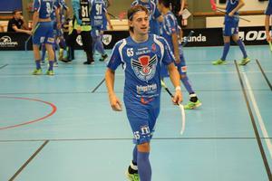 Andreas Dahlqvist drog på sig en ondöig utvisning i slutet.