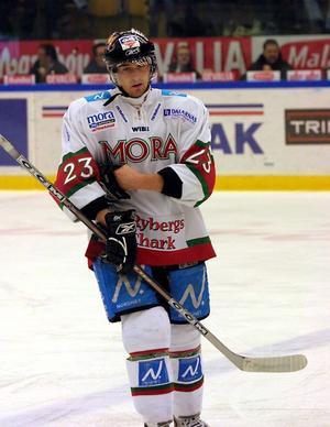 Upplevelse. Landskamperna med Tre Kronor mot Ungern blev ett minne för livet för Moraspelaren Tomas Skogs.