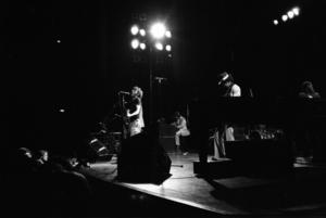 Bruce Springsteen i Stockholms konserthus 1975 bestod av: Clarence Clemons, Roy Bittan, Max Weinberg, Danny Federici, Steve Van Zandt och Gary Tallent.