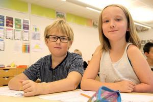 Neo och Lea tycker att de lärt sig mycket av Petrus Dahlin.