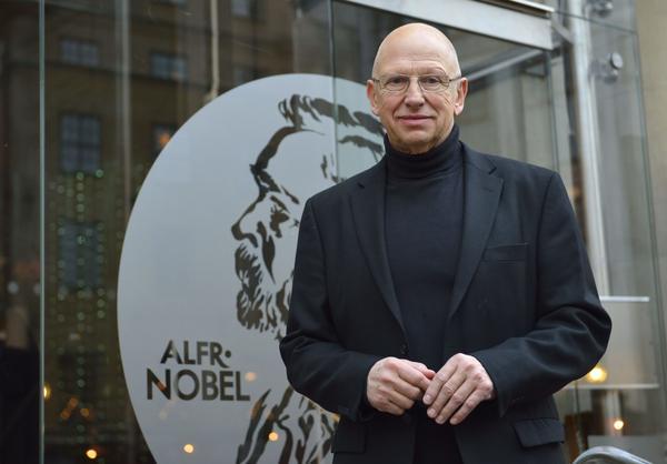 Gert Klötzke är kulinariskt ansvarig för Nobelfesten.
