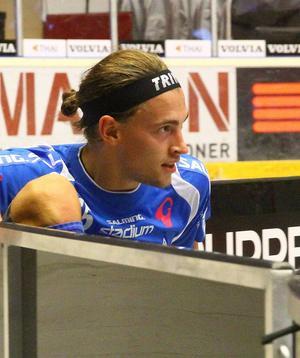 Andreas Dahlqvist gjorde 1–0 mot Pixbo. Sen var det roliga över.
