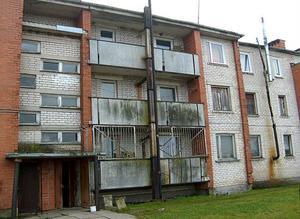 Ett av många hyreshus från Sovjettiden.