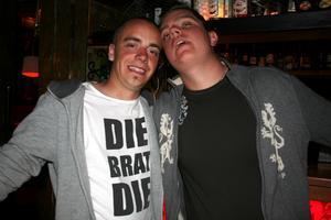 Konrad. Robin och Henke