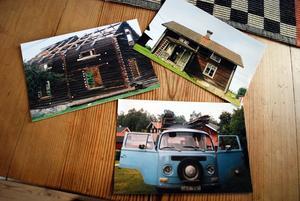Flytten av huset finns väl dokumenterat i ord och bild. Folkvagnsbussen gjorde många vändor.