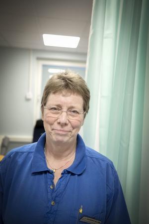 Barbro Blom, distriktssköterska och närvårdschef.