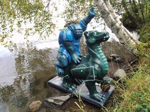 GIF-draken kommer nu att återbördas till sin rätta plats – vid Ågläntan på Norrmalm.