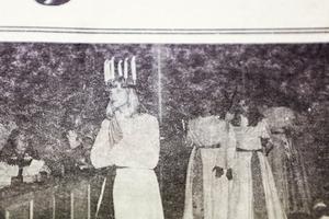 1976 var de Ann-Helene Sävström från Överberg som valdes till Härjedalens lucia. Över 300 personer samlades i Svegs kyrka för att se kröningen och luciasoarén på Södra skolan var utsåld.