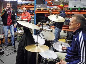 Borlängebandet Rootvälta gör sitt sista rep inför sitt sista gig.