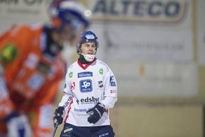 Daniel Burvall Jonsson under kvartsfinalserien 2016 mot Bollnäs.