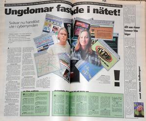 Vad är egentligen internet? Den 19 januari 1996 redde vi ut nymodigheten tillsammans med ett par äkta ungdomar.
