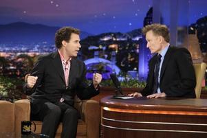 ... och efterträdaren Conan O'Brien hade komikern Will Ferrell som premiärgäst.