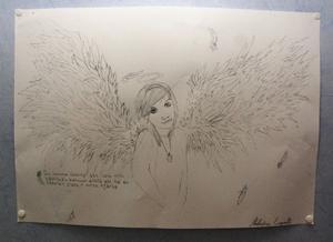 Efter Jessicas död visade många ungdomar sitt deltagande och stöd genom blommor, ljus och andra hyllningar till hennes minne. Det skrevs en sång som flitigt har spelats på Myspace. Och Jessicas bästa vän Malwina ritade en teckning av henne. Foto:Staffan Alberts