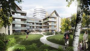Detaljplanen för Nykvarns centrum antogs av kommunstyrelsen.