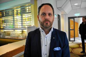 Jörgen Berglund, oppositionsråd i Sundsvall, siktar mot riksdagen.