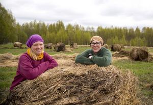 Terez Bergfeldt och Linda Isaksson driver Torsåkers Gårdsprodukter