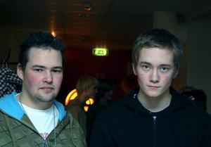 Mot rasism. Både Daniel Holst och Christian Skogstad har varit med i nätverket sedan starten i höstas.