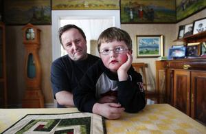 Lars-Erik Nilsson och sonen Petter. Foto: Jens Larsson