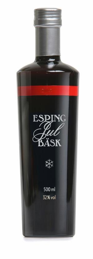 Esping Jul Bäsk smakar mer Gammeldansk än traditionell snaps och klarar sig bra utan sill.