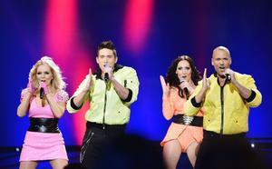 Danny Saucedo hoppade in i Alcazar när discogruppen var mellanakt i Melodifestivalen i år.