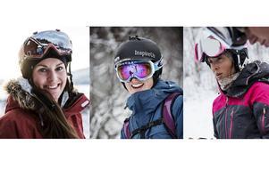 Gänget som utgör Inspire Us: (fr.v) Caroline Strömberg, Rebecka Nilsson och Anna Karlström. Den Årebaserade skidtrion tröttnade på manlig dominans på berget och startade Inspire Us.