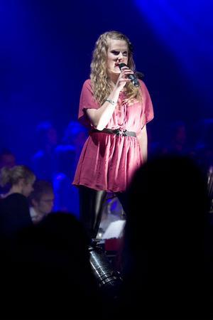 Vilma Skäryd sjöng