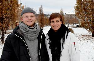 Jesper Eliasson och Maria Åman ser fram emot premiären av Häre Salonger.